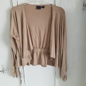 Tan colored lightweight sweater